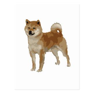 Shiba Inu Dog Postcard