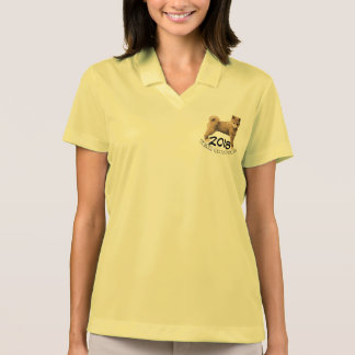 Shiba inu Dog Year 2018 Woman Polo