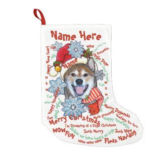 Shiba Inu Doge Christmas Stocking Pet Personalized