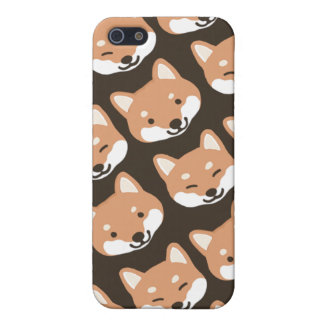 Shiba Inu Faces iPhone 5/5S Cover