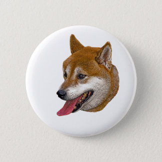 Shiba Inu Gift 2 Inch Round Button