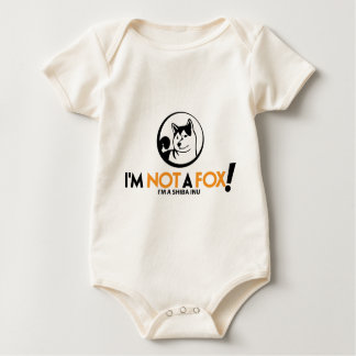 Shiba Inu Gifts Baby Bodysuit