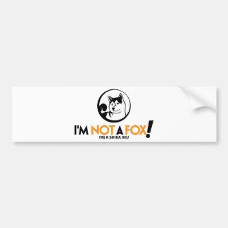 Shiba Inu Gifts Bumper Sticker