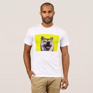Shiba Inu Graphic Art T-Shirt