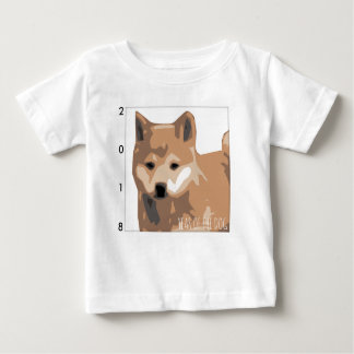 Shiba Inu Illustration Dog Year 2018 Baby T Baby T-Shirt