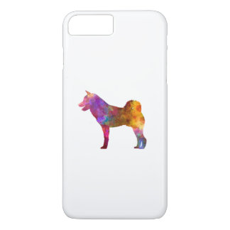 Shiba Inu in watercolor iPhone 8 Plus/7 Plus Case
