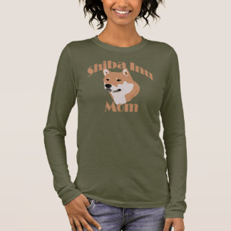 Shiba Inu Mom 2 Long Sleeve T-Shirt