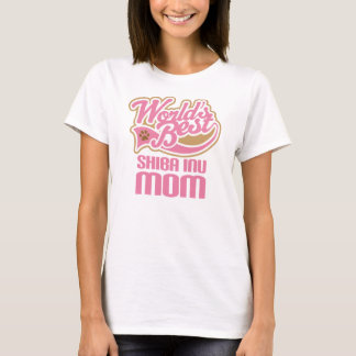 Shiba Inu Mom Dog Breed Gift T-Shirt
