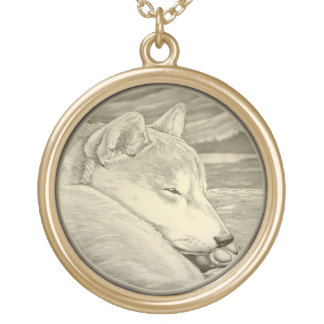 Shiba Inu Necklace Shib Inu Dog Art Jewelry Gifts