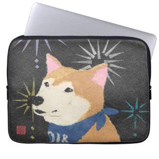 Shiba Inu, Orange Shiba, Year of the Dog Laptop Sleeve