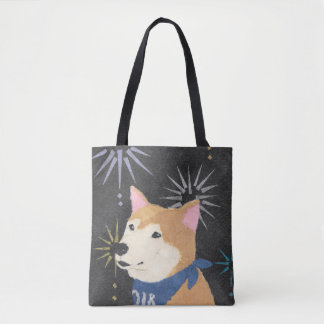 Shiba Inu, Orange Shiba, Year of the Dog Tote Bag