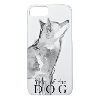 Shiba Inu Painting Chinese Dog Year 2018 Case1 iPhone 8/7 Case