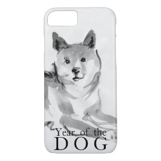 Shiba Inu Painting Chinese Dog Year 2018 Case2 iPhone 8/7 Case