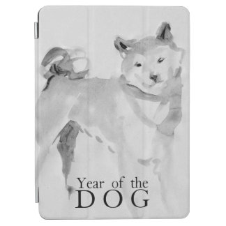 Shiba Inu Painting Chinese Dog Year 2018 iPad3 iPad Air Cover