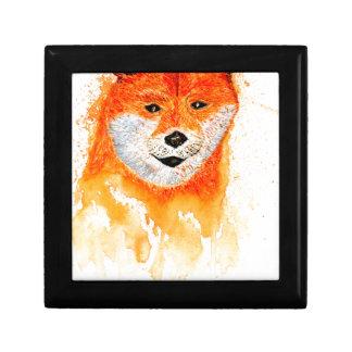 Shiba Inu Portrait Gift Box