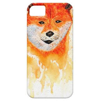 Shiba Inu Portrait iPhone 5 Case