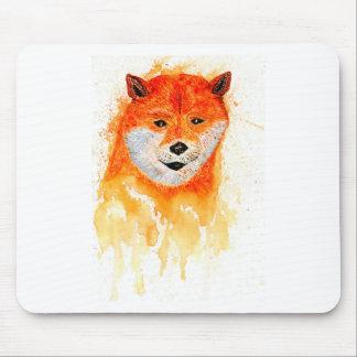 Shiba Inu Portrait Mouse Pad