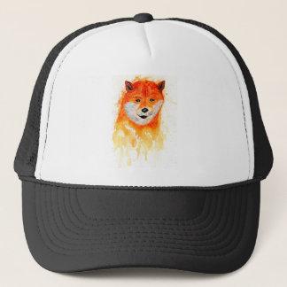 Shiba Inu Portrait Trucker Hat