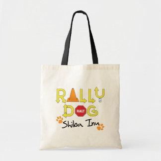 Shiba Inu Rally Dog Tote Bag