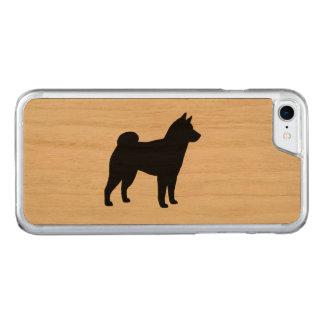 Shiba Inu Silhouette Carved iPhone 8/7 Case