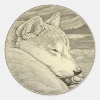 Shiba Inu Stickers Dog Lover Shiba Inu Art Sticker