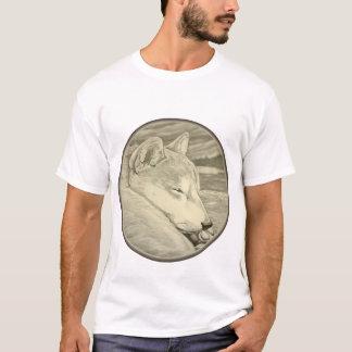 Shiba Inu T-shirts Art Men's Shirt Dog Art Shirts