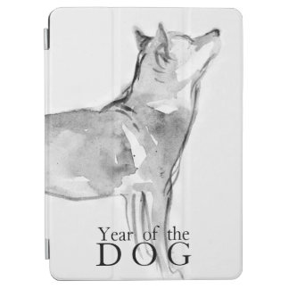 Shiba Inu Wash Painting Chinese Dog Year 2018 iPad iPad Air Cover