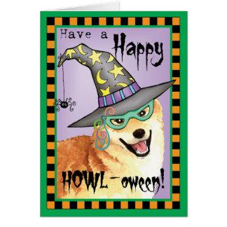 Shiba Inu Witch Card