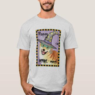 Shiba Inu Witch T-Shirt