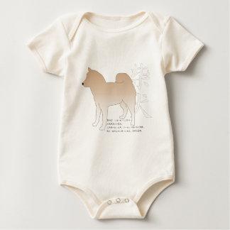 Shiba Japanese Dog Baby Bodysuit