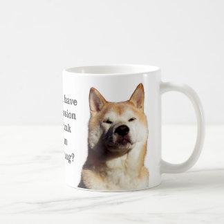 Shiba Permission Coffee Mug