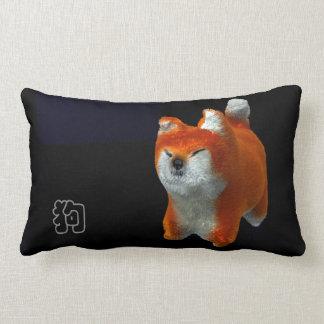 Shiba Puppy 3D Digital Art Dog Year 2018 Lumbar P Lumbar Pillow