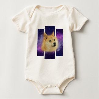 Shiba Spaceu.png Baby Bodysuit