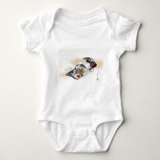 Shibata Zeshin Noh Mask Okina Baby Bodysuit
