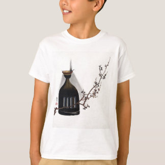 Shibata Zeshin Plum Branch with Oil Lamp T-Shirt