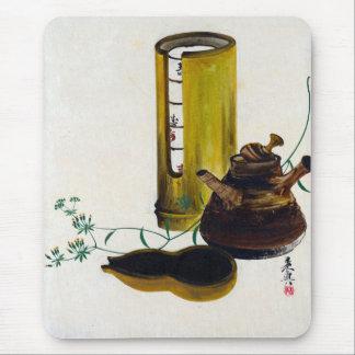 Shibata Zeshin Sencha Tea Set Mouse Pad