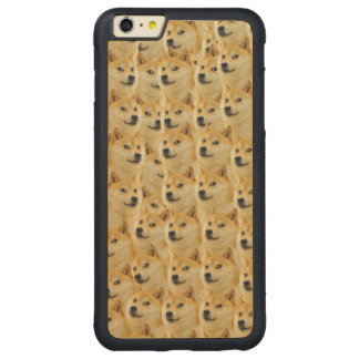 shibe doge fun and funny meme adorable carved® maple iPhone 6 plus bumper case