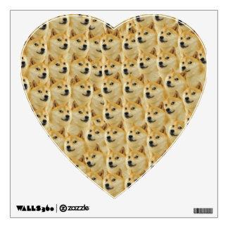 shibe doge fun and funny meme adorable wall sticker