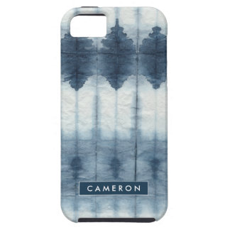 Shibori Indigio Print Case For The iPhone 5
