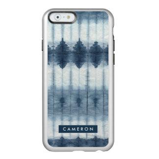 Shibori Indigio Print Incipio Feather® Shine iPhone 6 Case