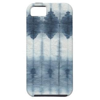 Shibori Indigio Print iPhone 5 Case