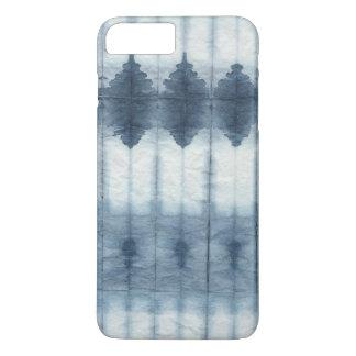 Shibori Indigio Print iPhone 7 Plus Case