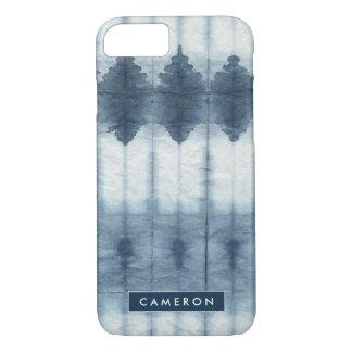 Shibori Indigio Print iPhone 8/7 Case