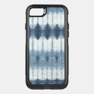 Shibori Indigio Print OtterBox Commuter iPhone 8/7 Case