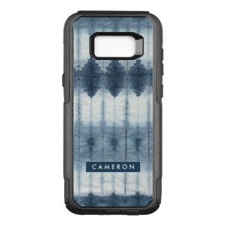 Shibori Indigio Print OtterBox Commuter Samsung Galaxy S8+ Case