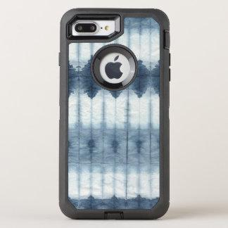 Shibori Indigio Print OtterBox Defender iPhone 7 Plus Case
