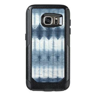 Shibori Indigio Print OtterBox Samsung Galaxy S7 Case