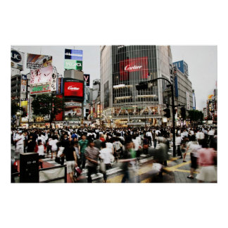 Shibuya Crossing Poster
