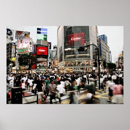 Shibuya Crossing Poster