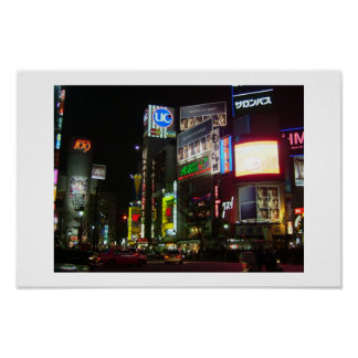 Shibuya Poster